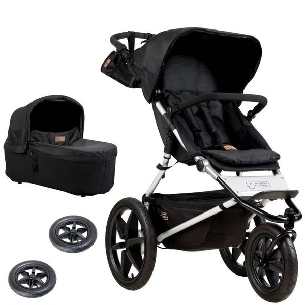 Mountain Buggy Terrain Onyx inkl. Carrycot Plus<br>+ gratis Carrycot Plus Regenschutz<br>Kollektion 2019